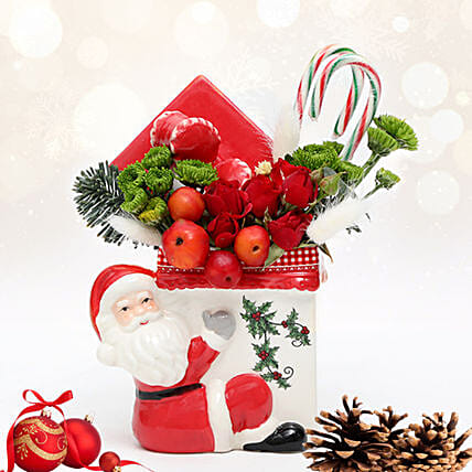 Christmas Wishes From Santa:Christmas Flowers in UAE