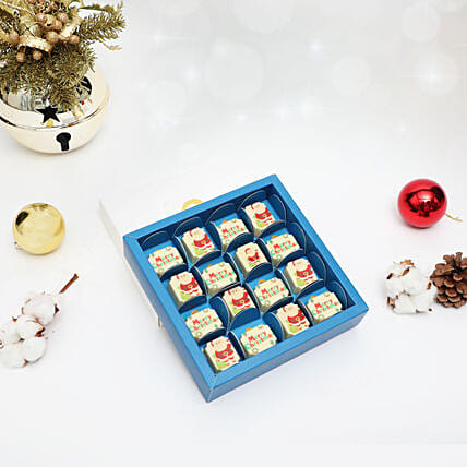 Christmas Wishes Printed Chocolates:Christmas Gifts for Her in UAE