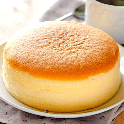Classic Japanese Cheesecake