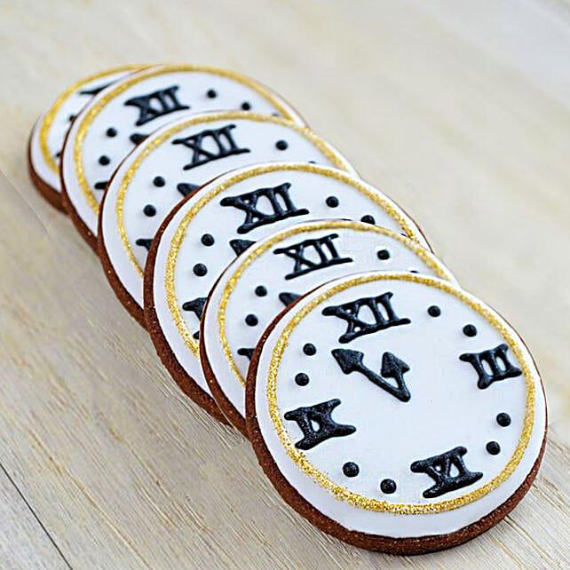 Clock Theme Cookies