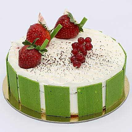 Creamy Vanilla Cake 8 Portion