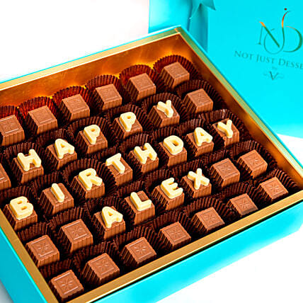 Customized Birthday Chocolates:Personalized Gifts Dubai UAE