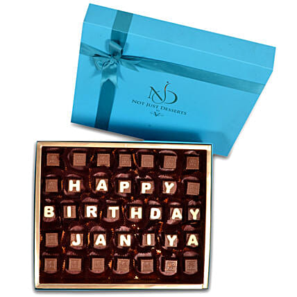 Customized Happy Birthday Chocolate:Send Birthday Gifts to Ras Al Khaimah