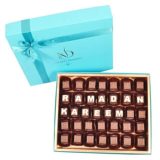 Customized Ramadan Chocolate Box:Send Ramadan Gifts to UAE
