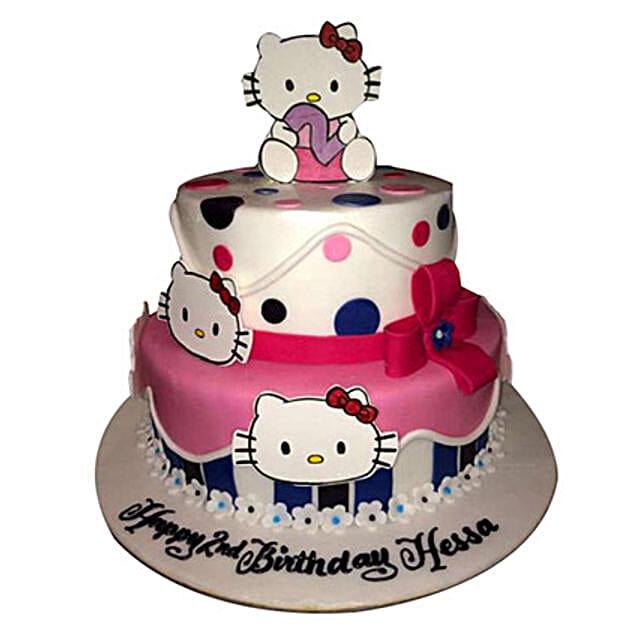 Cute Kittens Cake