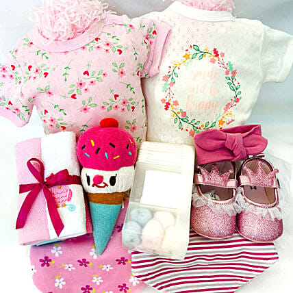 Cuteness Overload Hamper For Baby:Gift Baskets to UAE