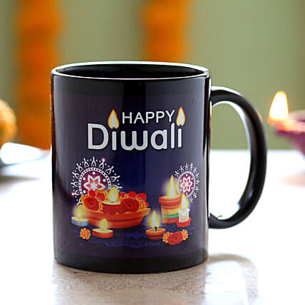 Printed Coffee Mug for Diwali