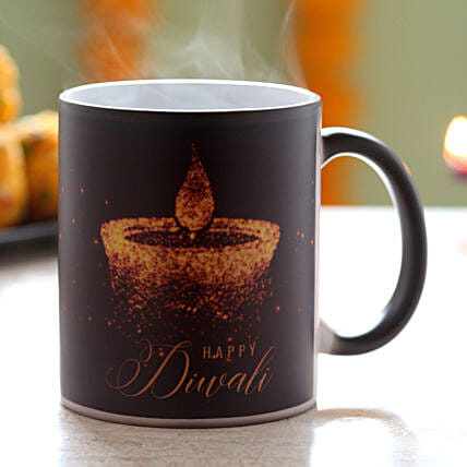 Diwali Wishes Magic Coffee Mug