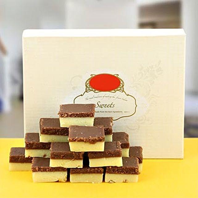 Enjoyable Chocolate Barfi