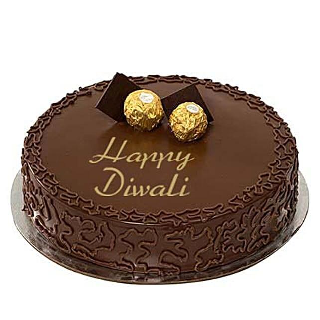 Ferrero Rocher Happy Diwali Cake:Send Diwali Cakes to UAE