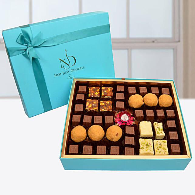 Festive Sweet And Chocolates Swastika Box