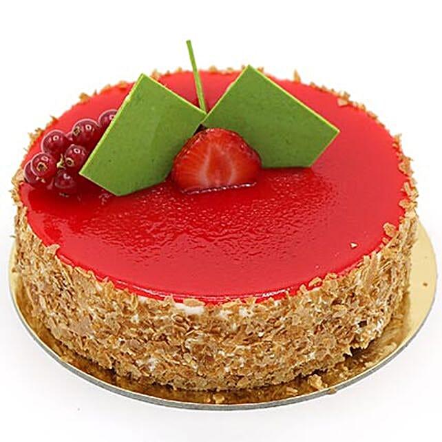 Flavoursome Strawberry Cheesecake 8 Portion