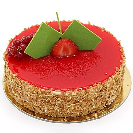 Flavoursome Strawberry Cheesecake