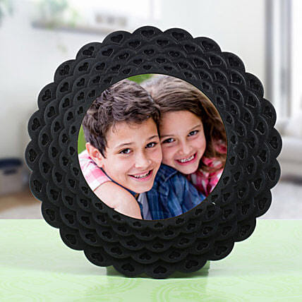 Floral Shaped Photo Frame