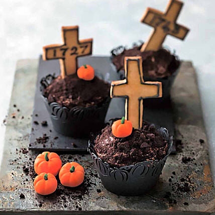 Graveyard Cup Cakes