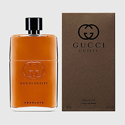 Gucci Guilty Absolute by Gucci for Men EDP:Send Gifts for Boss to UAE