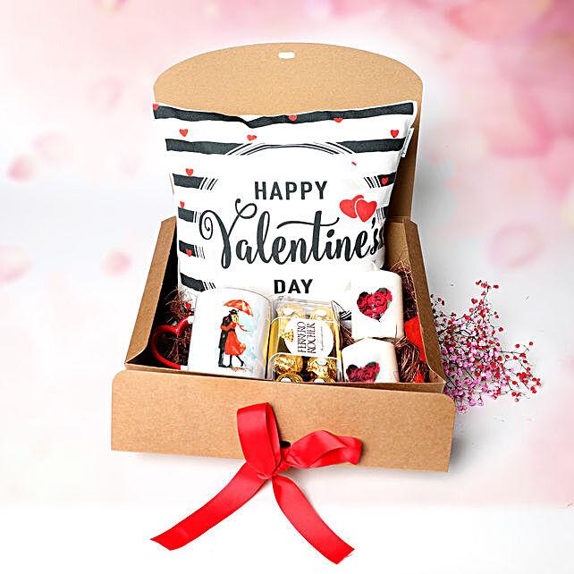 Happy Valentine To My Bae:Personalised Cushions to UAE