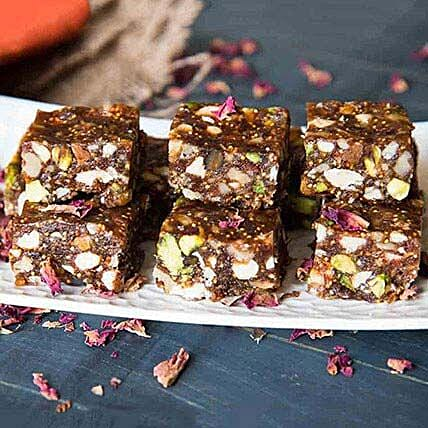 Healthy Anjeer Dry Fruits Barfi