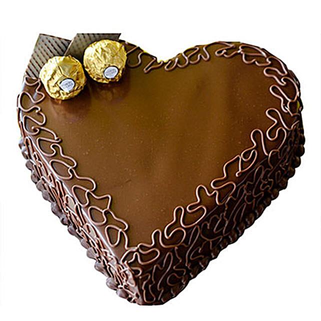 Heart Choco Cake