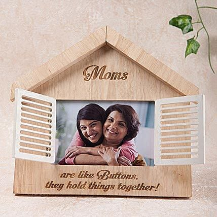 Hut Shaped Personalized Frame:Mother's Day Gift Delivery in UAE