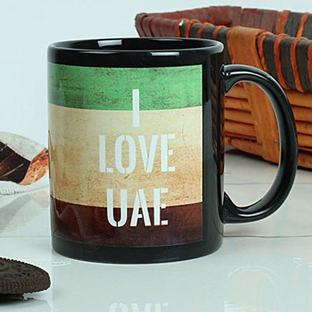 I Love UAE Mug