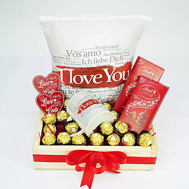 Love Getting Spoiled By U:Personalised Cushions to UAE