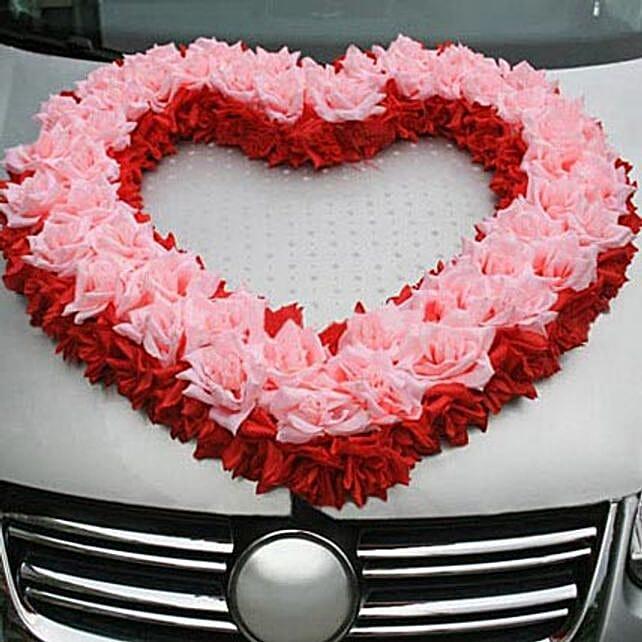 Love with Car Decor