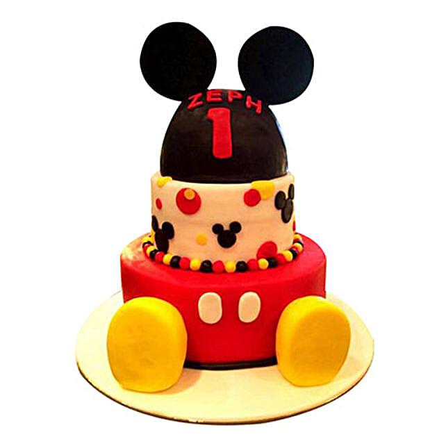 Lovely Mickey Cake