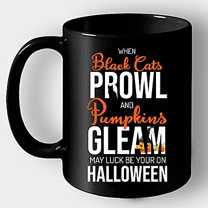 Online Coffee Mug with Halloween Quote:Send Spooky Halloween Gifts