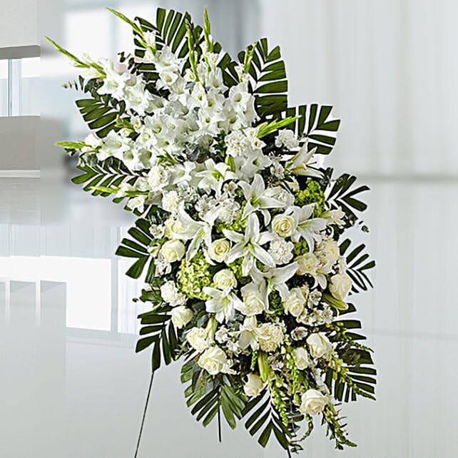 Luxurious White Flowers