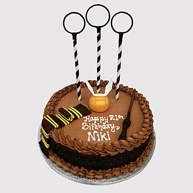 Magical Quidditch Theme Cake