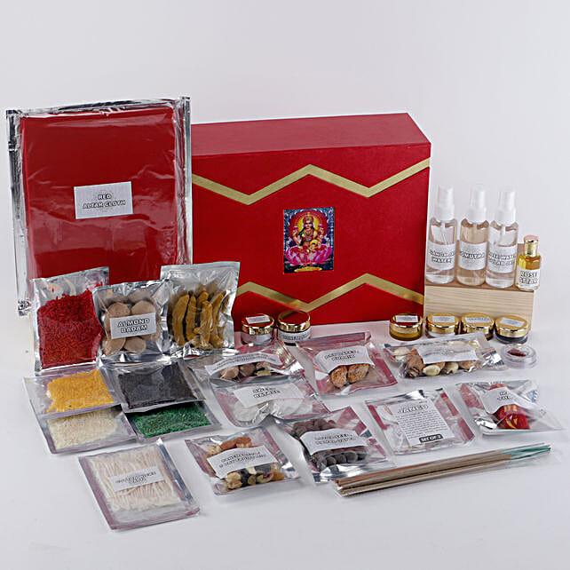 Margashirsha Lakshmi Puja Box:Send Pooja Samagri Boxes to UAE