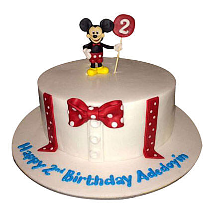 Mickey Cartoon Cake:Mickey Mouse Cake Delivery in UAE