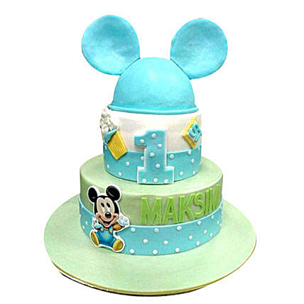 Mickey Mouse Cake:Mickey Mouse Cake Delivery in UAE