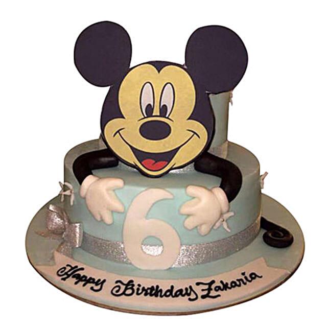 Mickey the Cartoon Cake