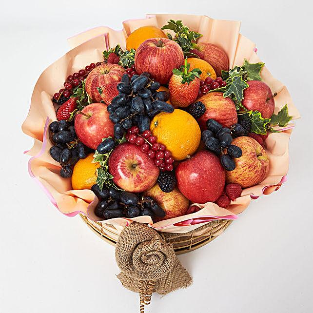 Mix Fruits Special Fruit Basket:Fruit Basket Delivery UAE