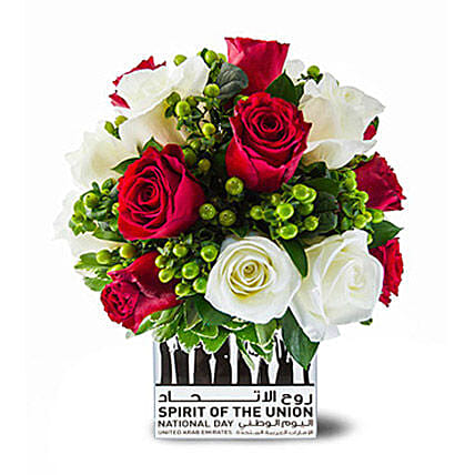 National Day Delight With Roses
