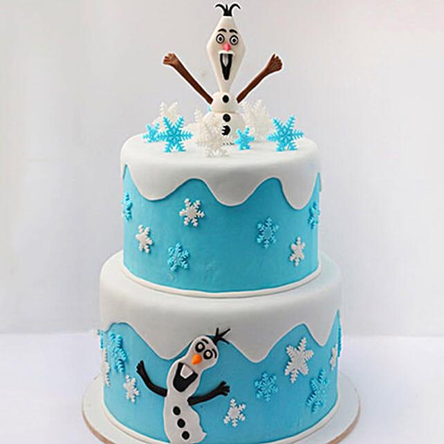 Olaf The Snowman Cake 5 Kg