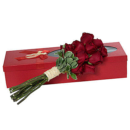 Passionate Red Roses Bouquet