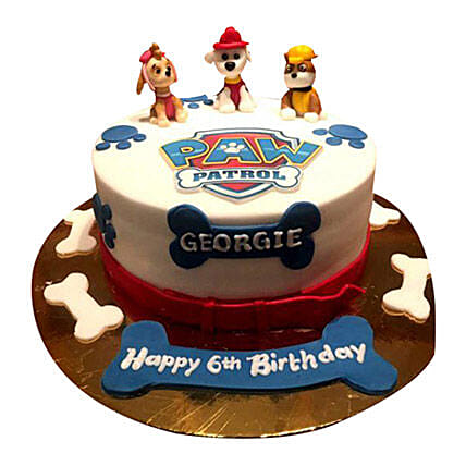 Paw Patrol Cake for Kids