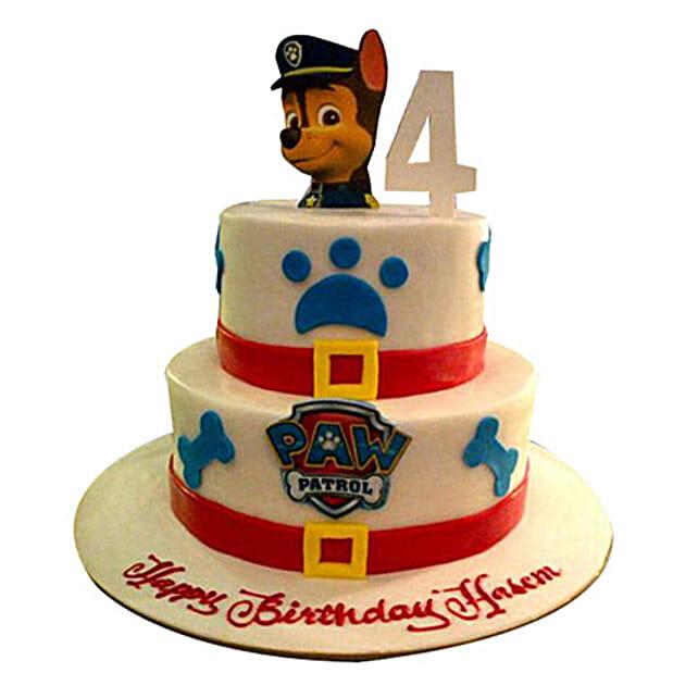 Gift Paw Patrol Cake