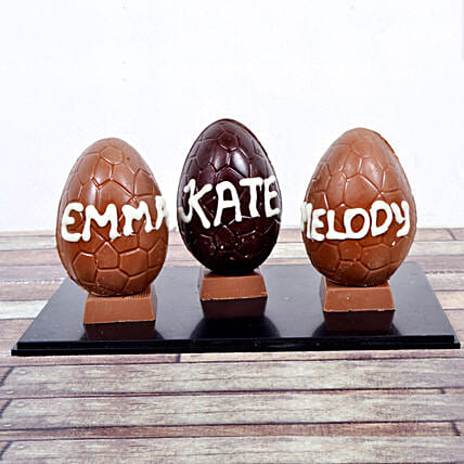 Online personalised easter chocolates