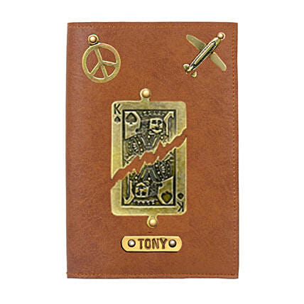 Personalised King Passport Cover