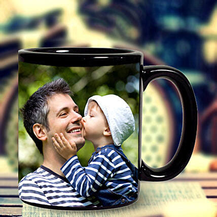 Personalized Black Mug:Send Birthday Gifts to Ras Al Khaimah