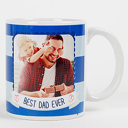 Personalized Mug for Best Dad Ever:Personalised Gifts to UAE
