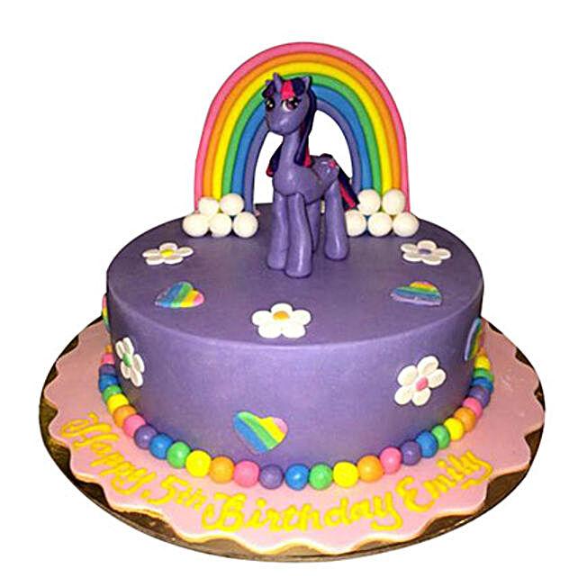 Pony the cartoon Cake