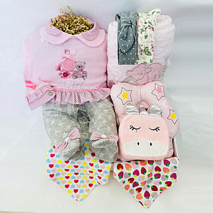 Pretty Gift Hamper For Little One:Gift Baskets to UAE