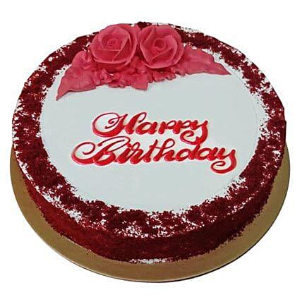 Red Velvet Birthday Cake:Send Birthday Gifts to Ras Al Khaimah