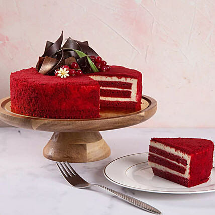 Red Velvet Cake 4 Portions:Cake Delivery In UAE
