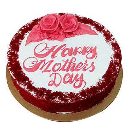 Red Velvet Cake for Mom:Send Mothers Day Gifts to UAE